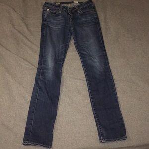 AG Stilt Cigarette Leg Jeans